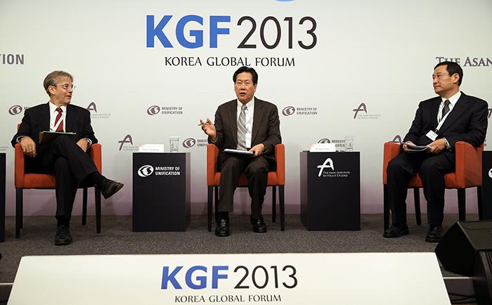 韩半岛国际论坛,就朝核问题与韩半岛信任进程解决方法